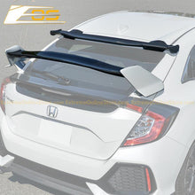 2016-19 Honda Civic Hatchback Type R Conversion Rear Spoiler W/ Spoon Roof Spoiler - ExtremeOnlineStore