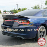 2015-Up Dodge Charger SRT8 Extended Wickerbill Rear Spoiler