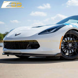 Corvette C7 Carbon Flash Front Splitter Lip W/ Stage 2 Side Winglets Extension