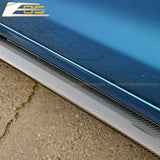 Corvette C6 Base Carbon Fiber Side Skirts Rocker Panels | ZR1 Conversion Package
