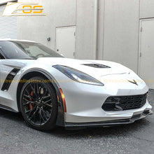 Corvette C7 Stage 3 Front Splitter W/ Wickerbill Side Winglets - ExtremeOnlineStore