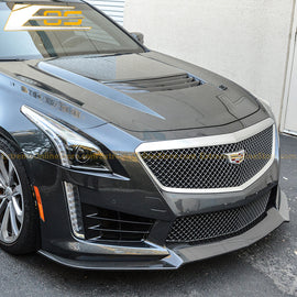 Carbon Fiber Front Splitter | 16-Present Cadillac CTS-V - ExtremeOnlineStore