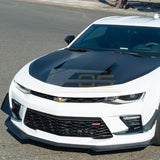 Camaro SS Carbon Flash Front Bumper Side Canards