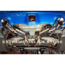 "2009-Up Nissan 370Z Z34 Stainless Steel Axle Back 4.5"" Dual Tips Exhaust"