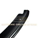 13-14 Ford Focus ST Carbon Fiber / Primer Black Front Splitter Lip