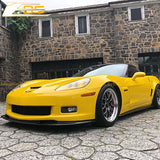 Corvette C6 Grand Sport / Z06 Carbon Flash Front Splitter Lip