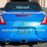 "2009-Up Nissan 370Z Z34 Muffler Delete Axle Back 4.5"" Dual Tips Exhaust"