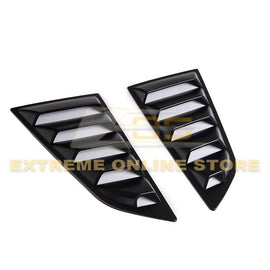 Corvette C7 Coupe Rear Side Window Louver Covers