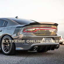 15-Up Dodge Charger SRT Rear Bumper Dual Exhaust Diffuser