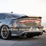 2015-Up Dodge Charger SRT Rear Bumper Dual Exhaust Diffuser