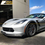 Corvette C7 Stage 2 / 3 Front Splitter Air Dam