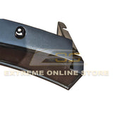 Corvette C7 Stage 3 Front Splitter Wickerbill Extension Winglets