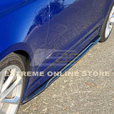 2016-19 Cadillac ATS-V Carbon Fiber Side Skirts Rocker Panels
