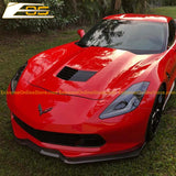 Corvette C7 Carbon Fiber Stage 2 Front Side Extension