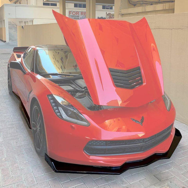 Corvette C7 ZR1 Conversion Stage 2.5 Front Splitter & Side Skirts