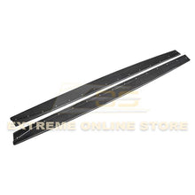 2015-20 BMW F82 M4 Extended Carbon Fiber Side Skirts Rocker Panels