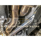 2014-Up M4 / M3 / M2 Competition S55 Engine Catless Down Pipes