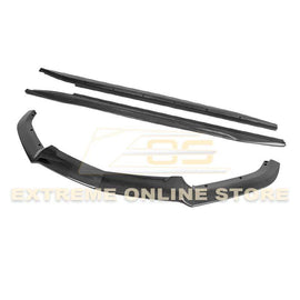 2014-19 Cadillac CTS Carbon Fiber Front Splitter & Side Skirts