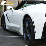 Corvette C7 Z06 Conversion Side Skirts Rocker Panels