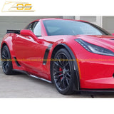 Corvette C7 Stage 2 / 3 Front Splitter & Side Skirts