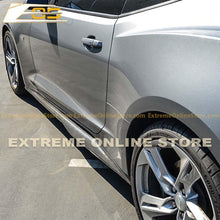 Camaro RS / SS ZL1 Style Side Skirts Rocker Panels