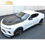 Camaro SS Primer Black Aerodynamic Full Body Kit | 1LE Extended Package