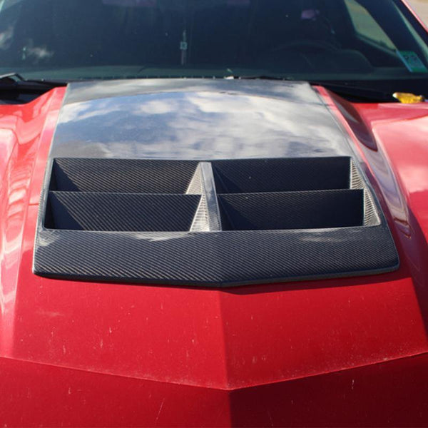10-13 Camaro Carbon Fiber Hood Insert | ZL1 Performance Package