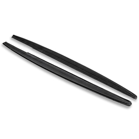 Carbon Fiber Side Skirts Rocker Panels | 12-Present BMW F30 3-Series M-Sport - ExtremeOnlineStore