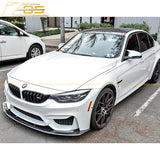 15-Up BMW F80 M3 Carbon Splitter Front Splitter Lip