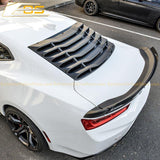 Camaro Rear Window Louver Sun Shade Cover | EOS Performance Package
