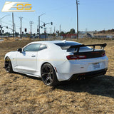 Camaro SS Primer Black Aerodynamic Full Body Kit | ZL1 1LE Conversion Package