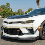 Camaro SS | T6 Front Splitter Lip & Side Skirts Rocker Panels