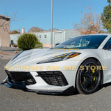 Corvette C8 5VM Carbon Flash Painted Front Splitter Lip