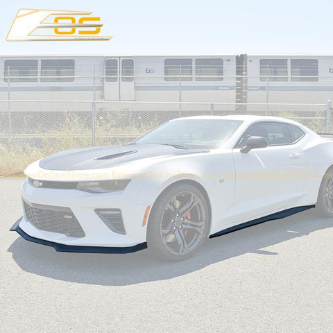 Camaro SS 6th Gen Facelift 1LE Front Splitter Lip & Side Skirts - ExtremeOnlineStore