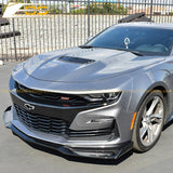 Camaro Primer Black Aerodynamic Full Body Kit | SS 1LE Extended Package