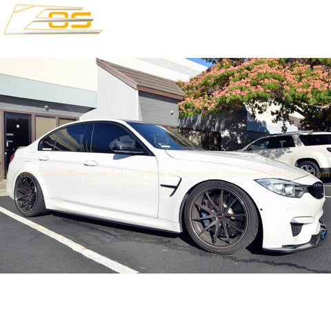 Carbon Fiber Side Skirts Rocker Panels | 14-Present BMW F80 M3 - ExtremeOnlineStore