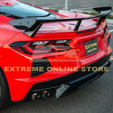 Corvette C8 Rear Trunk Spoiler High Wing