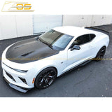 Camaro Extended Wickerbill Rear Trunk Spoiler | EOS SS 1LE Track Package