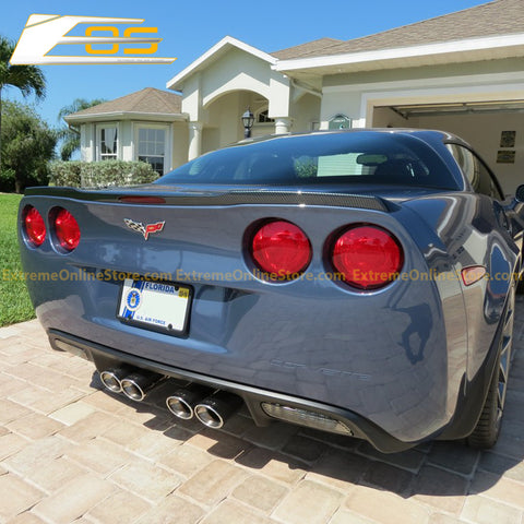 Corvette C6 ZR1 Package Rear Trunk Spoiler