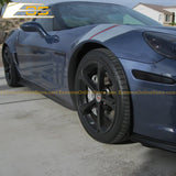 Corvette C6 Grand Sport / Z06 / ZR1  Side Skirts Rocker Panels