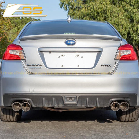 2015-Up Subaru WRX / STi Muffler Delete Axle Back 4 Inch Quad Tips Exhaust