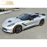 Corvette C7 EOS Performance Side Skirts Rocker Panels