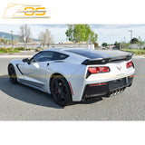 Corvette C7 Stage 3 Wickerbill Rear Spoiler