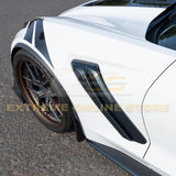 Corvette C7 ZR1 Conversion Side Fender Vents