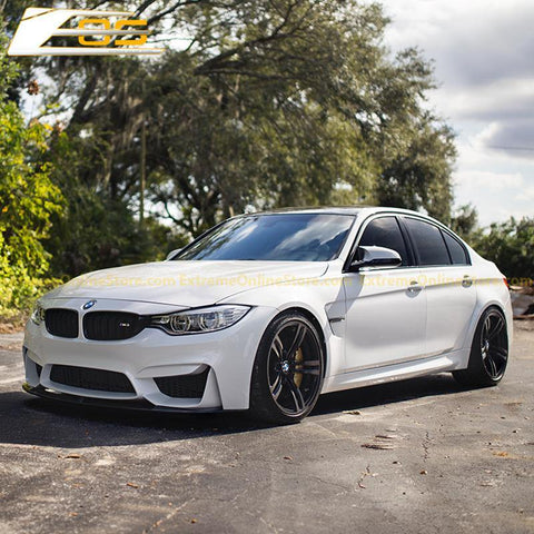 15-Up BMW F80 M3 | F82 M4 M-Performance Carbon Splitter Front Splitter Lip