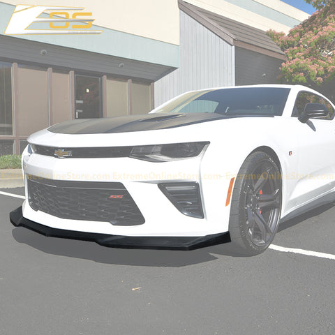Camaro Primer Black Front Splitter | ZL1 Conversion Package - ExtremeOnlineStore