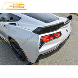 Corvette C7 Stage 2 Rear Spoiler Wing
