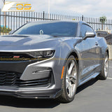 Camaro Primer Black Aerodynamic Full Body Kit | ZL1 Conversion Package