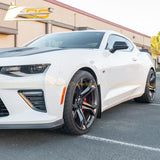 Camaro Extended Front & Rear Splash Guards