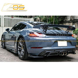 17-Present Porsche 718 Cayman & Boxster Rear Spoiler | GT4 Performance Package